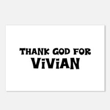 Thank God For Vivian Postcards (Package of 8)