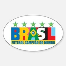 Brazilian World cup soccer Decal