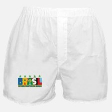 Brazilian World cup soccer Boxer Shorts