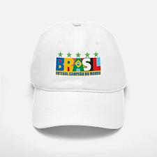 Brazilian World cup soccer Baseball Baseball Cap