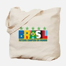 Brazilian World cup soccer Tote Bag