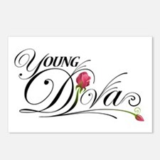 Young D.I.V.A.s Postcards (Package of 8)