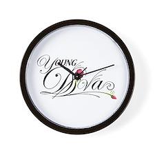 Young D.I.V.A.s Wall Clock