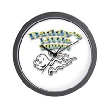 Daddy's Little Squirt Wall Clock