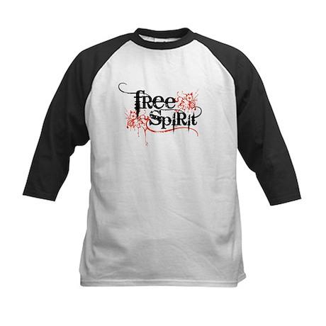 Free Spirit Kids Baseball Jersey