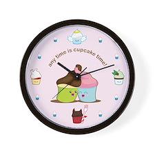 Cute Angel food Wall Clock