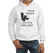 Young Farmers Do It In Wellie Jumper Hoody