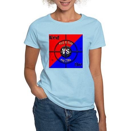 Red VS Blue Women's Light T-Shirt