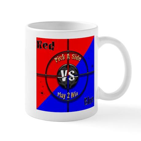 Red VS Blue Mug