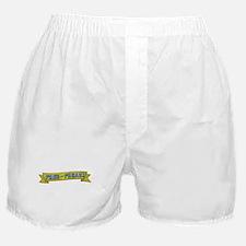 Free Yer Freak Ribbon1 Boxer Shorts