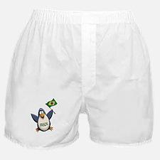 Brazil Penguin Boxer Shorts