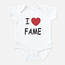 I heart fame Infant Bodysuit