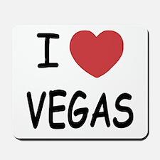 I heart Vegas Mousepad