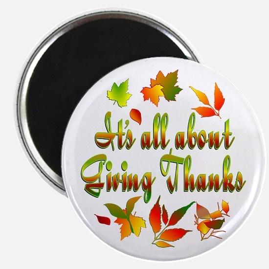 "Thanksgiving 2.25"" Magnet (10 pack)"