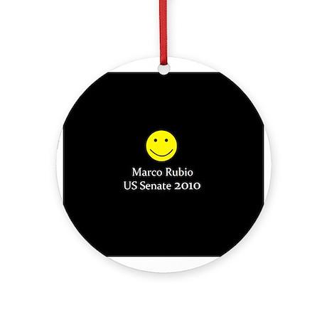 Marco Rubio Ornament (Round)
