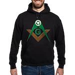 Recycling Masonically Hoodie (dark)