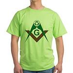 Recycling Masonically Green T-Shirt
