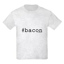 Twitter hashtag #bacon T-Shirt