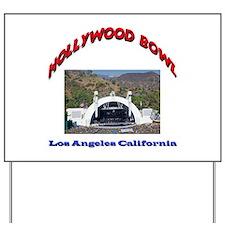 Hollywood Bowl Yard Sign