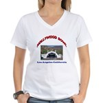 Hollywood Bowl Women's V-Neck T-Shirt