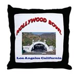 Hollywood Bowl Throw Pillow
