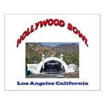 Hollywood Bowl Small Poster