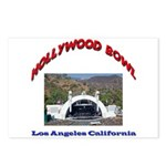 Hollywood Bowl Postcards (Package of 8)