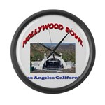 Hollywood Bowl Large Wall Clock
