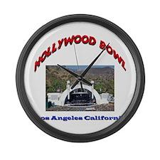 Hollywood Bowl Large Wall Clock