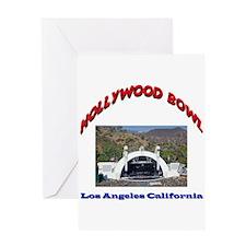 Hollywood Bowl Greeting Card