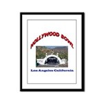 Hollywood Bowl Framed Panel Print