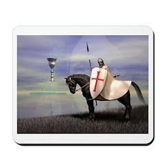 Knight Templar Mousepad