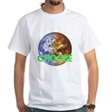 Climate change Mens Classic White T-Shirts