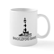 Shackleford Banks NC - Lighthouse Design Mug