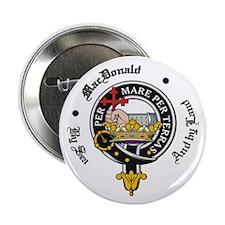 MacDonald Clan Badge Crest Button