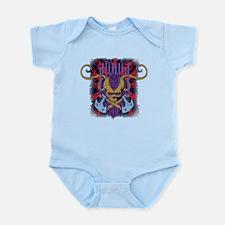Savage Skull Mutant Style Infant Bodysuit