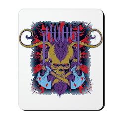 Savage Skull Mutant Style Mousepad