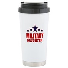 Military Daughter Travel Coffee Mug