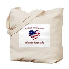 Funny A soldier in afghanistan loves me Tote Bag