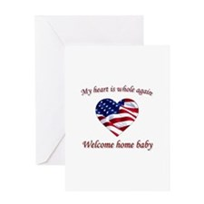 Welcome home Greeting Cards