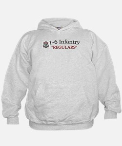 1st Bn 6th Inf Hoodie