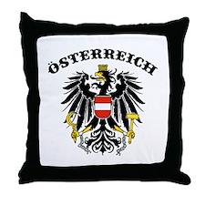 Osterreich Austria Throw Pillow