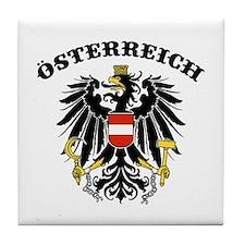 Osterreich Austria Tile Coaster