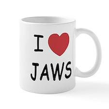 I heart jaws Mug