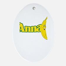 Anna Ornament (Oval)