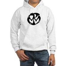 Logo in white Hoodie