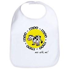 Moo With Me Bib