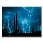 Sonoran Storm Small Poster