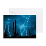 Sonoran Storm Greeting Cards (Pk of 10)