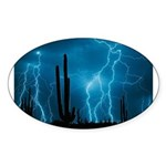 Sonoran Storm Sticker (Oval 10 pk)